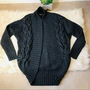 Buffalo / Cozy Cable Knit Cacoon Cardigan